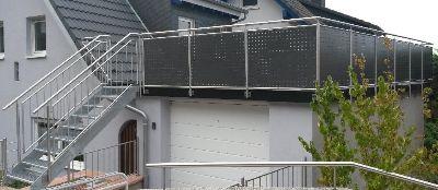 balkon gel nde metallbau edelstahlverarbeitung. Black Bedroom Furniture Sets. Home Design Ideas